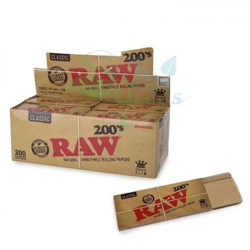 RAW Classic King Size Slim 200pk