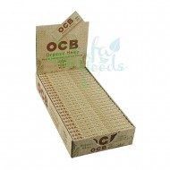 OCB Organic Hemp Rolling Papers 24CT Display Box