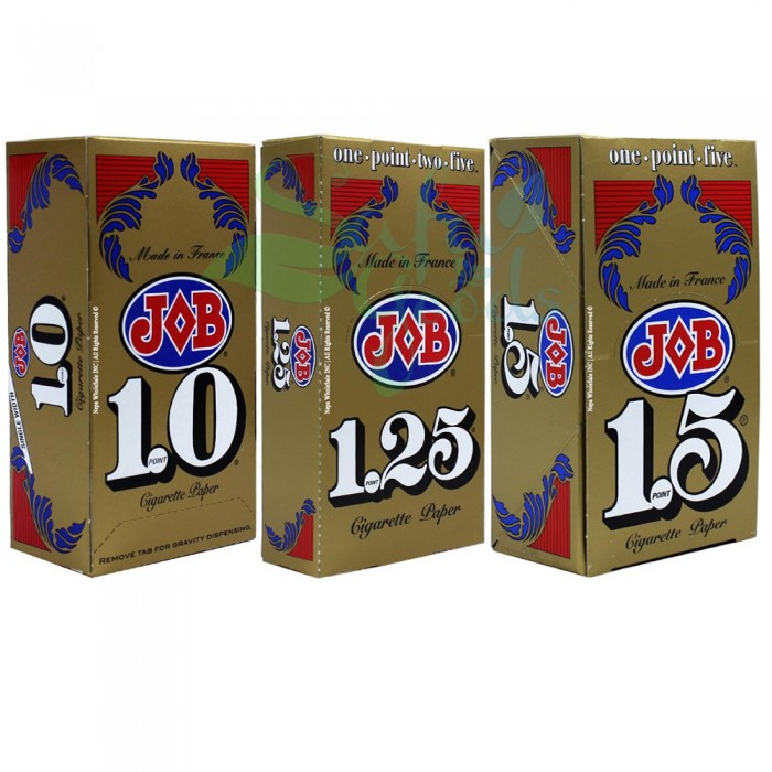 Job Cigarette Rolling Papers Display Box 24CT