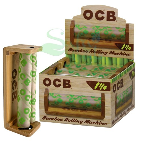 OCB Bamboo Cigarette Rollers 6CT Box