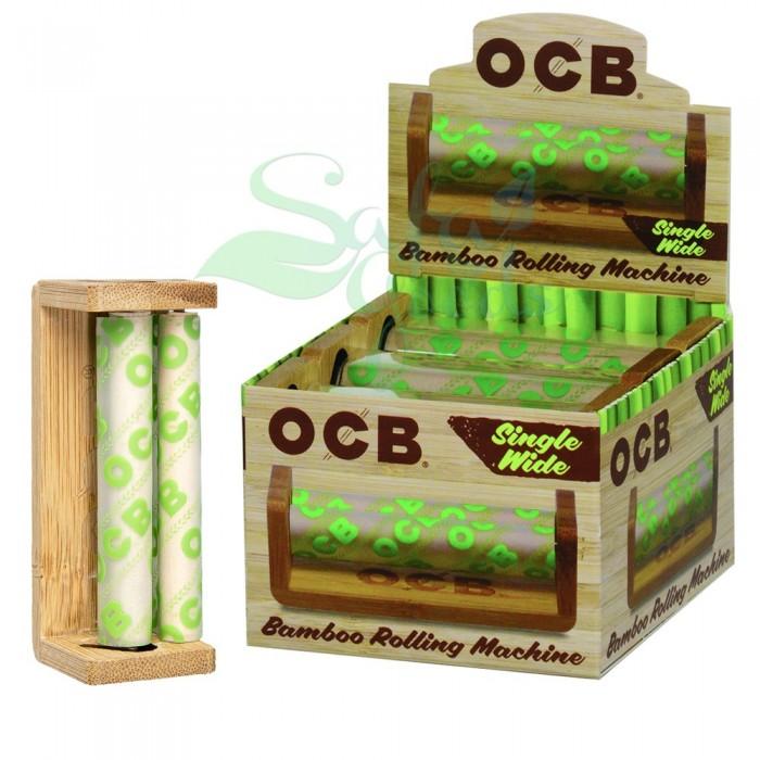 OCB Bamboo Cigarette Rollers 6CT Box