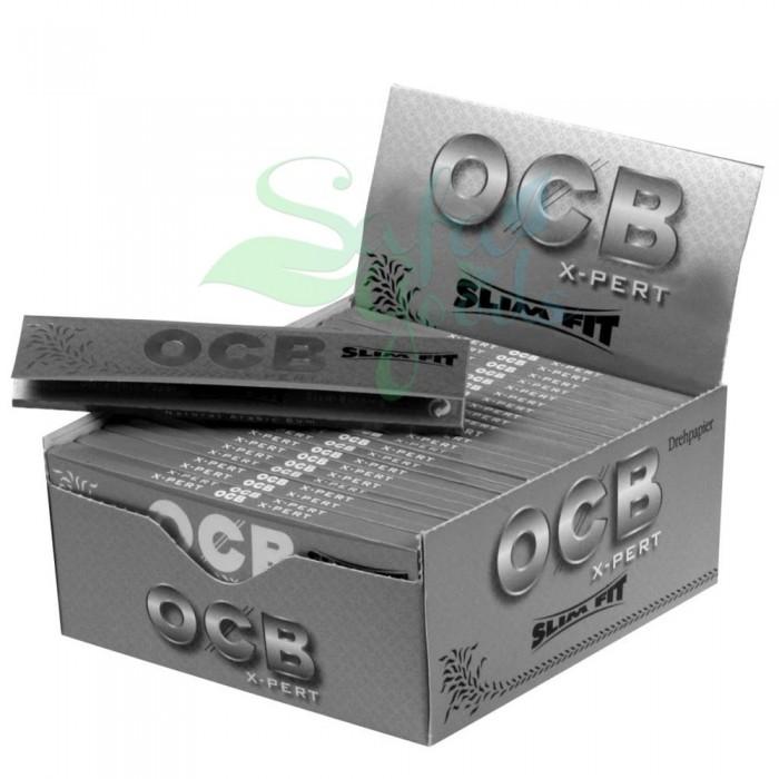 OCB X-Pert Slim Rolling Papers 24CT Display Box