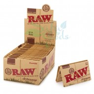 RAW - Organic Artesano Rolling Papers - 1-1/4in.