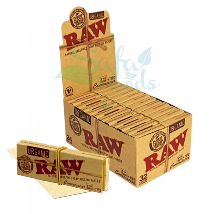 RAW - Organic Connoisseur Rolling Papers - 1-1/4in.