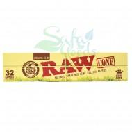 RAW - Organic Cones 32PK