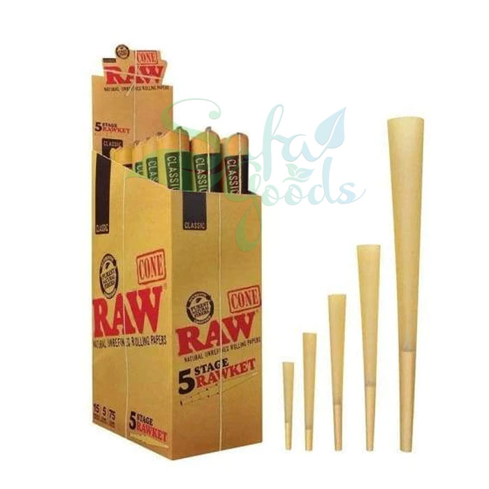 RAWket Pack Raw Cones