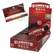 Elements - Red - Hemp Rolling Papers - 1-1/4 inch 25ct