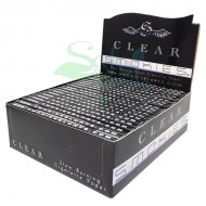 Smokies Clear Cellulose Rolling Papers | Blunt Size
