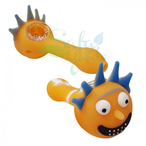 5 in. Silicone Character Handpipes - 2PC Bundle