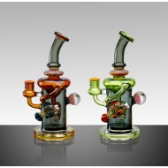 11 Inch Tattoo Multirecycler Chamber Water Pipe