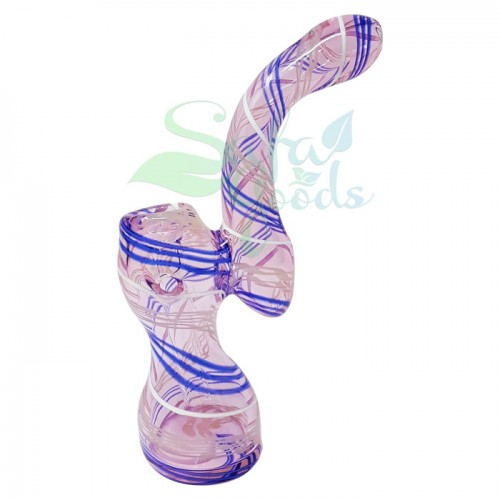6 in. Standing Bubbler with Linework
