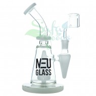 8 in. NeuGlass Rig with Pyramid