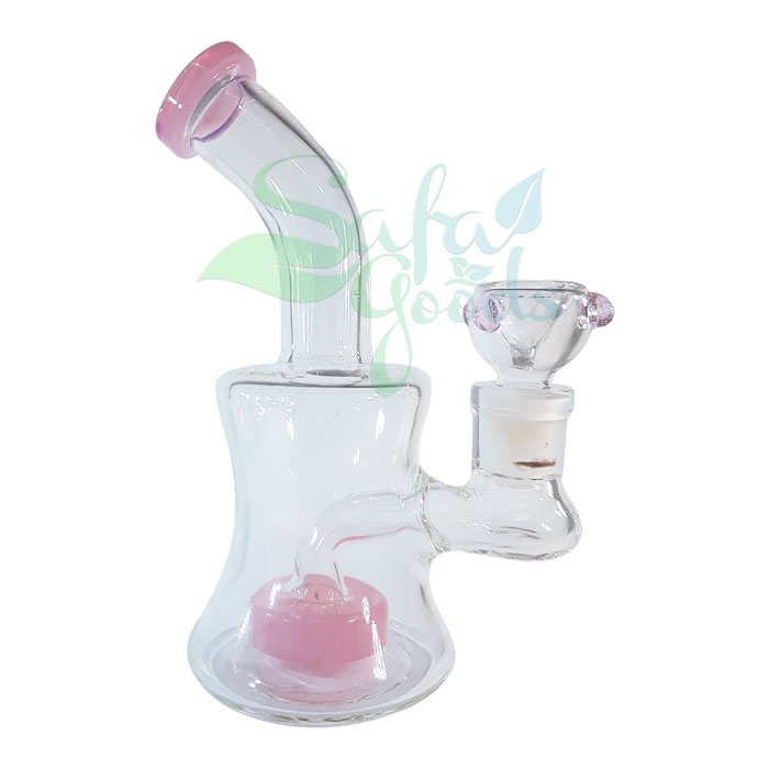 6 in. Waterpipe With Showerhead Perc - Various Colors