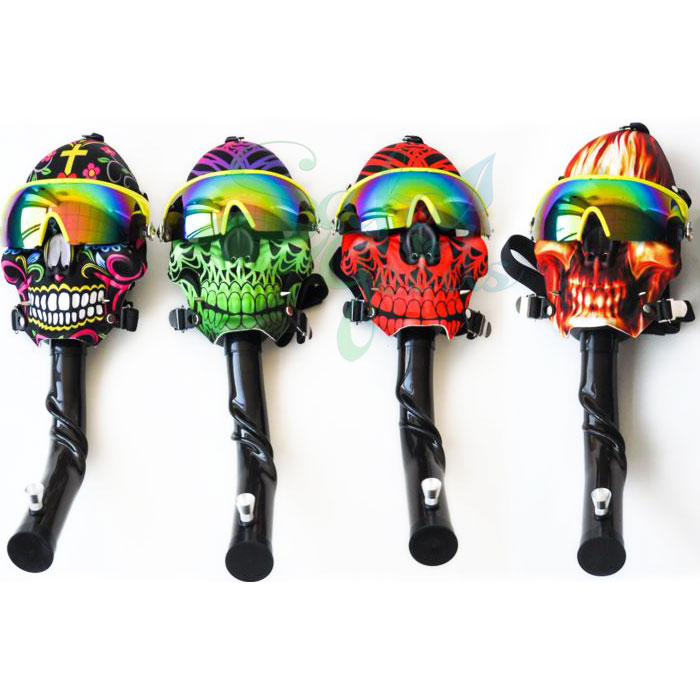 Skull Mask Water Pipe
