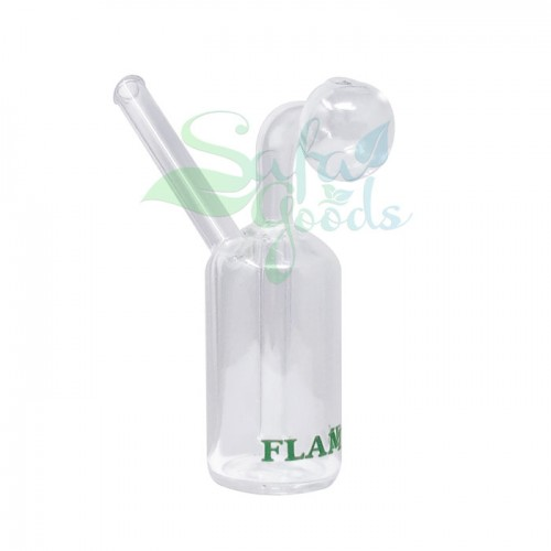 3 Inch Fixed Oil Burner Glass Water Pipe