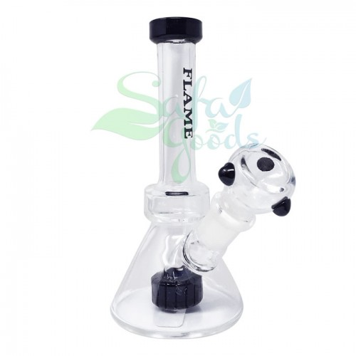 5 Inch Beaker Showerhead Perc Glass Water Pipe