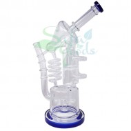 13.5 Inch Multiple Chamber Recycler Water Pipe