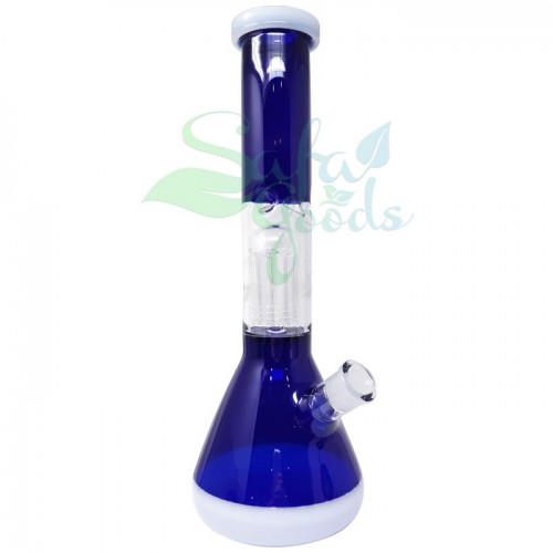 13.5 Inch Beaker Style Ice Catcher Water Pipe