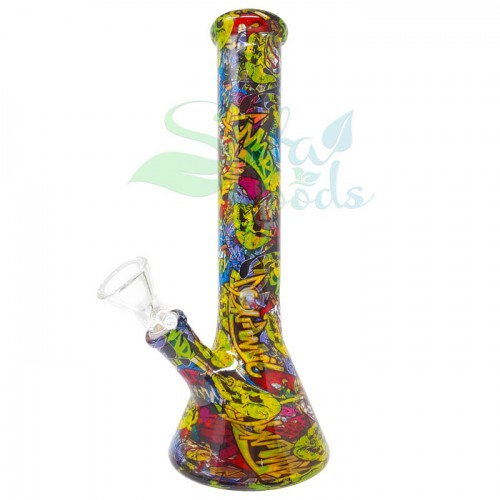 10.5 Inch Beaker Style Ice Catcher Water Pipe