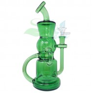 10 Inch Double Recycler Showerhead Perc Water Pipe