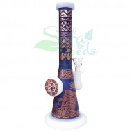 9 Inch Various Painted Graphics Dab Water Pipe