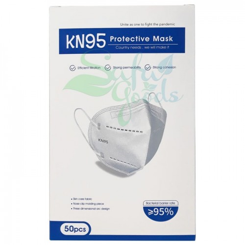 Face Masks - KN95 - 50PC BOX