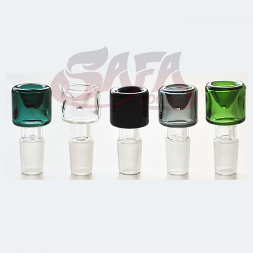 Colored Glass Bowls - Various Sizes