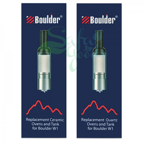 The Boulder W1 Concentrate Pen Replacement Tanks