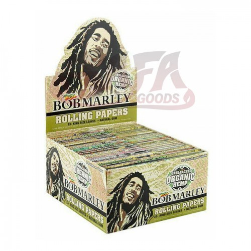 Bob Marley Organic Rolling Papers - King Size 50ct