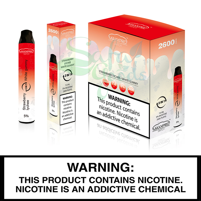 MaxxPro Switch Disposable Vapes 10pc
