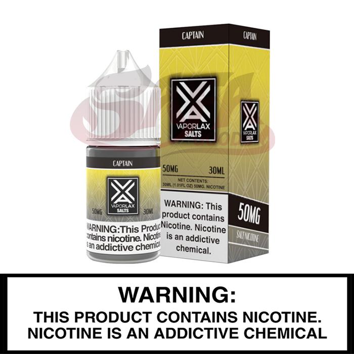 Vapor Lax Salt-Nic 30mL Bottles 10PC Box