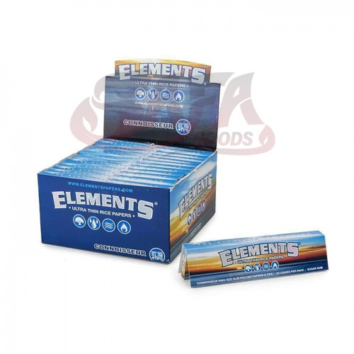 Elements - Connoisseur Rolling Papers - King w/Tips 24ct