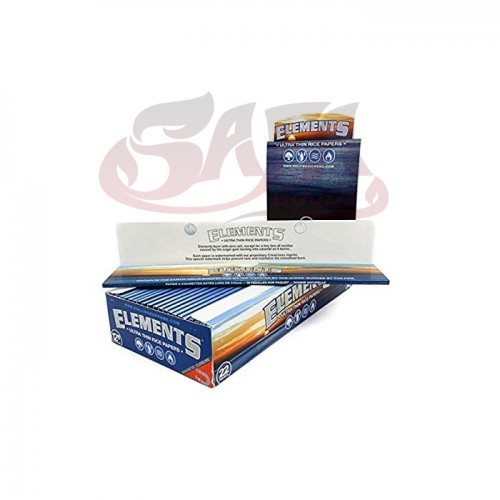 """Elements - Ultra Thin Rice Rolling Papers - 12"""" (Foot Long)"""