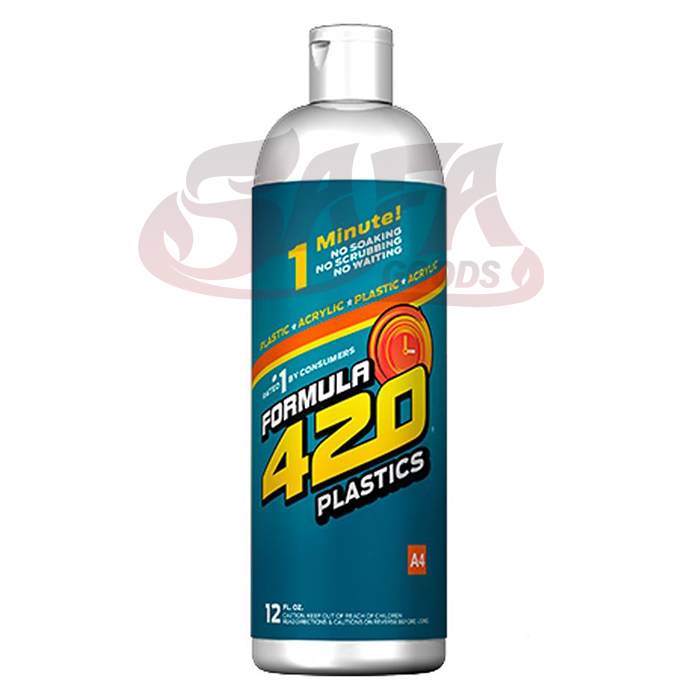 Formula 420 Plastic and Acrylic Pipe Cleaner 12oz