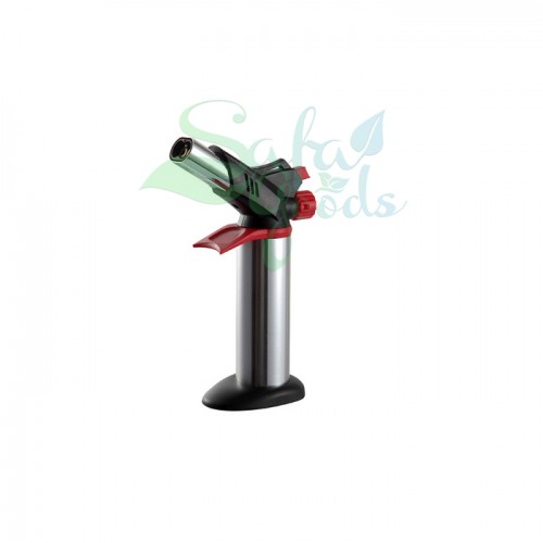 Gas Torches - Double Barrel [Silver/Red/GF-8761]