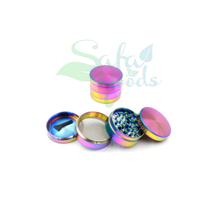 55mm Iridescent Grinders 4 Stage 6pc