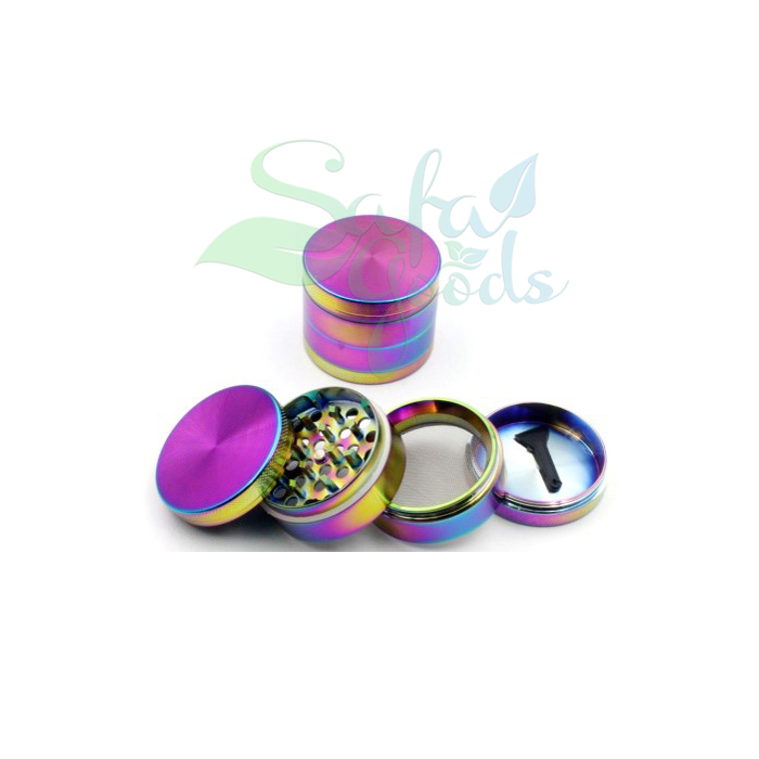 50mm Iridescent Grinders 4 Stage 6pc