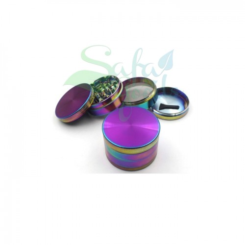 62mm Iridescent Grinders 4 Stage (Single Unit)
