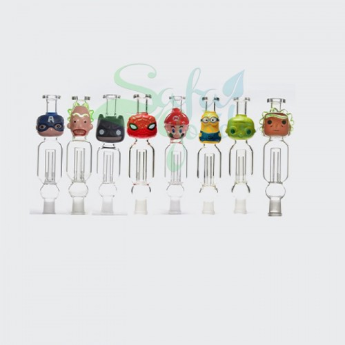 Glass Character Nectar Collectors