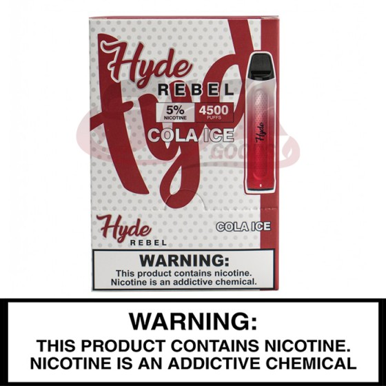 Hyde REBEL Recharge Disposables 10PC Display Box