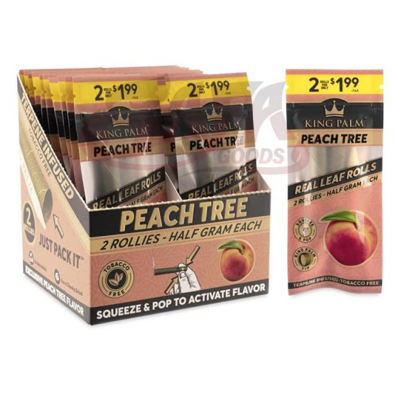 King Palm - FLAVORED Rollie Size 20CT/2PK