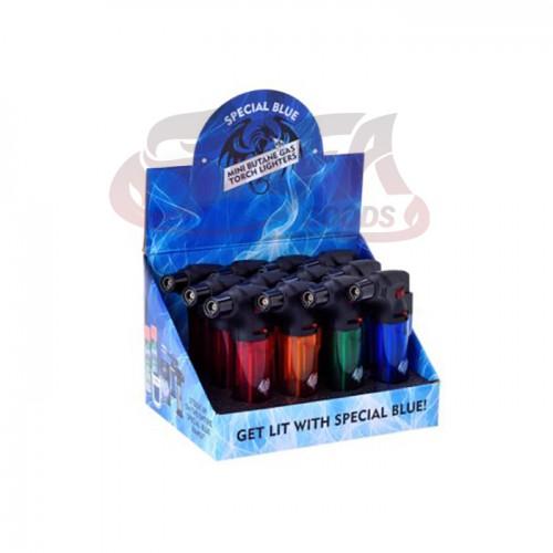Special Blue - Bernie Plastic Lighters - 12PC Display