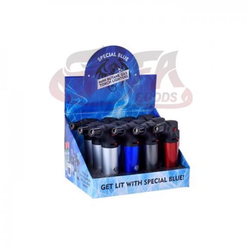 Special Blue - Bernie Metal Lighters - 12PC Display