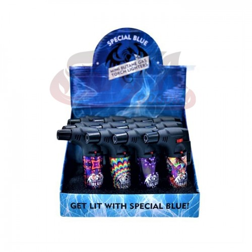 Special Blue - Bernie 70's Lighters - 12PC Display