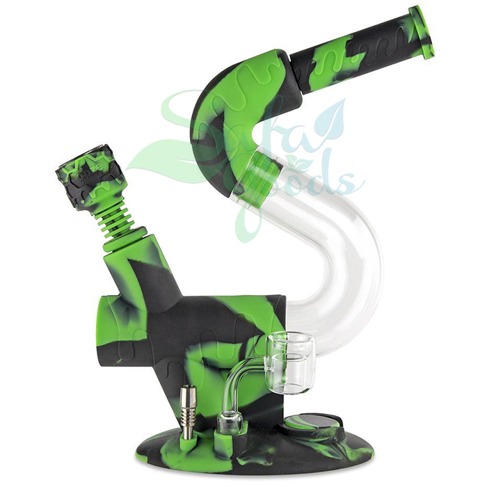 Ooze Swerve Silicone Water Pipe/Nectar Collector