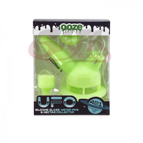 OOZE UFO Silicone Water Pipe and Nectar Collector