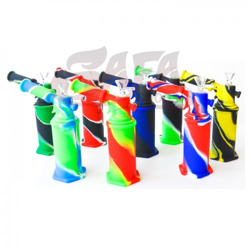 Silicone Torch Water Pipes