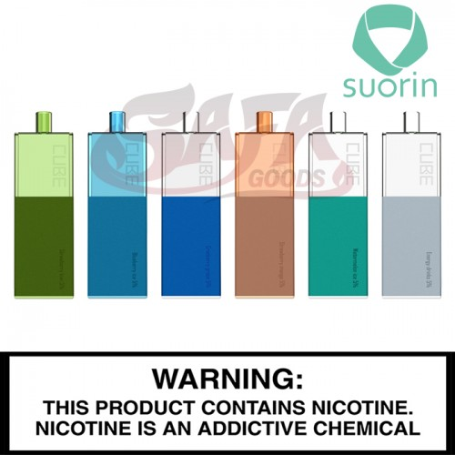 Suorin Cube Disposable Vapes - Display of 10