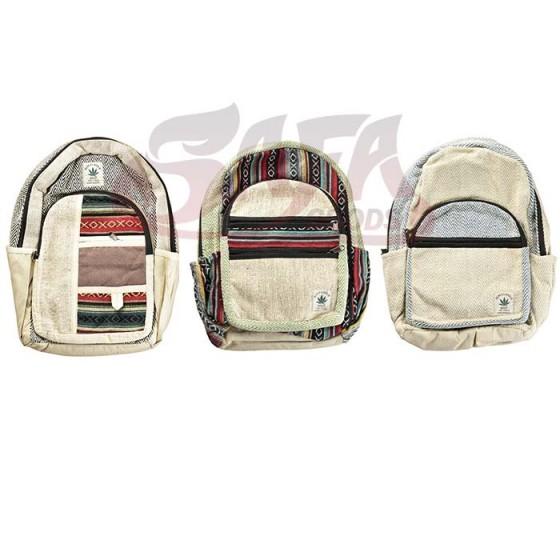 Threadheads Himalayan Hemp Multi Zipper Back Packs
