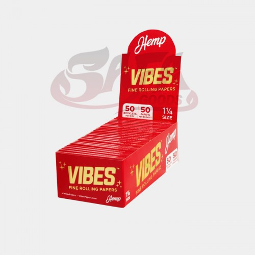 """Vibes Rolling Papers 50ct Box - 1-1/4"""""""